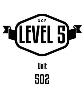 UNIT 502 - Promote Professional Development