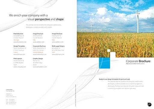Business Brochure Template ( BRO-BS-01-01 )