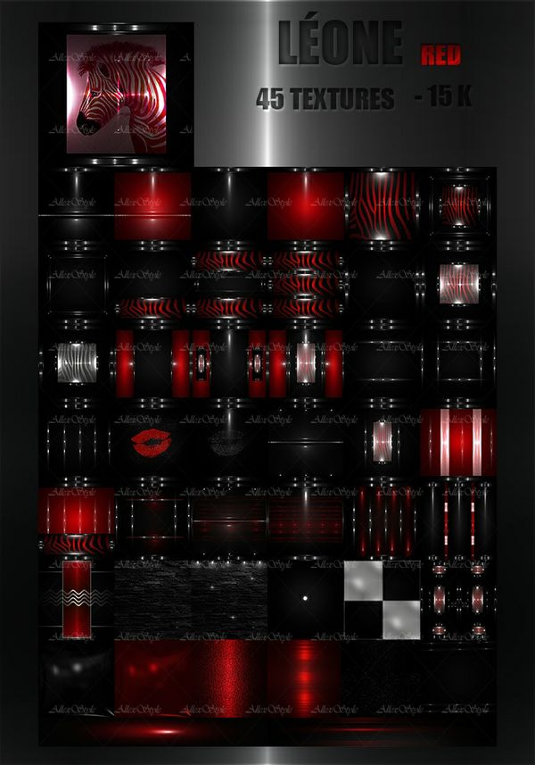 "IMVU TEXTURES FILE "" LEONE RED"""