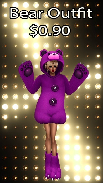 Bear Outfit v17 Texture