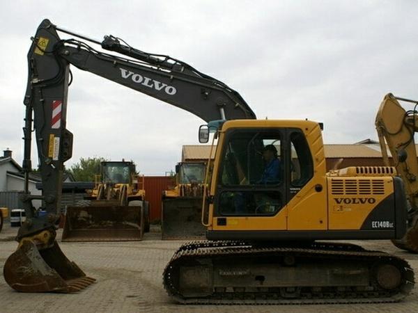VOLVO EC140B LC EC140BLC EXCAVATOR SERVICE REPAIR MANUAL - DOWNLOAD