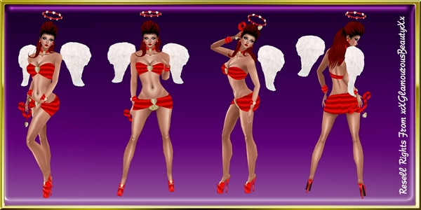 Valentine's GA Cupid Red Catty Only!!!!