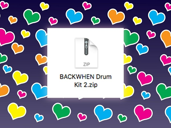 BACKWHEN Drum Kit 2