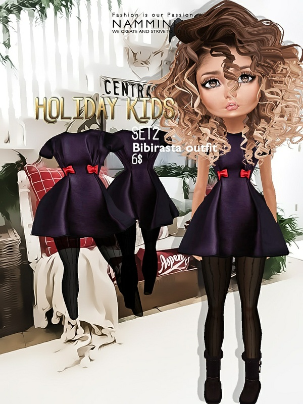 Holiday Kids Set2 imvu texture JPG bibirasta outfit NAMMINLIZ filesale