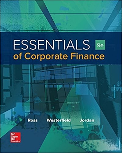 Essentials of Corporate Finance 9th edition ( PDF )