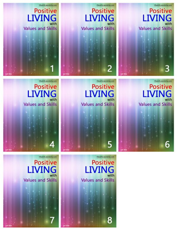 Positive Living - All 8 Books
