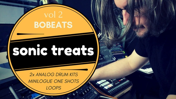 Sonic Treats VOL 2 – Analog Drum Kits, Minilogue One Shots & Loops