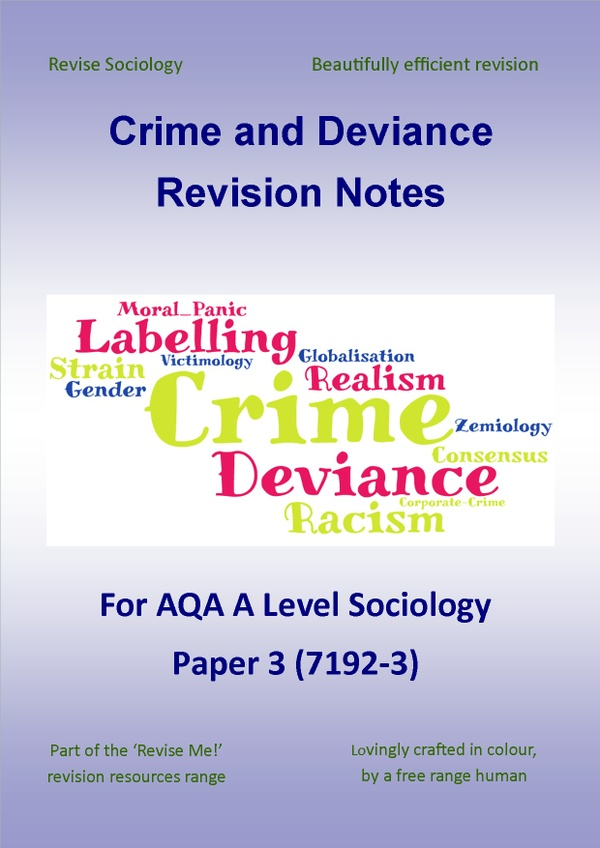 Crime and Deviance Revision Notes