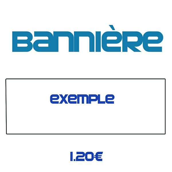 BANNIÈRE