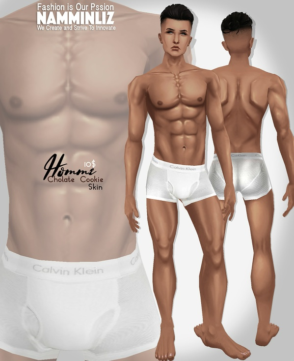Homme Chocolate cookies  Skin tone PNG