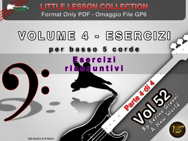 LITTLE LESSON VOL 52 - Format Pdf (in omaggio file Gp6)