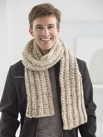 Ribbed Scarfie