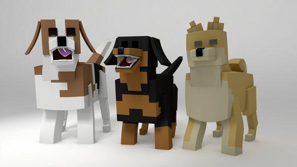 Minecraft Dog Rig Pack