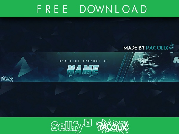 Gaming Banner Template [Pacolix]