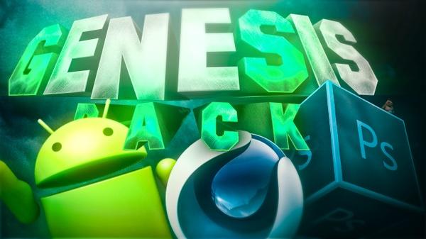 Genesis GFX Pack   The BEST GFX PACK FREE 2017 - Aleo x Jacar