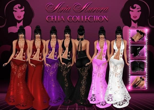 Celia Bundle 5 Colores.No Resell !