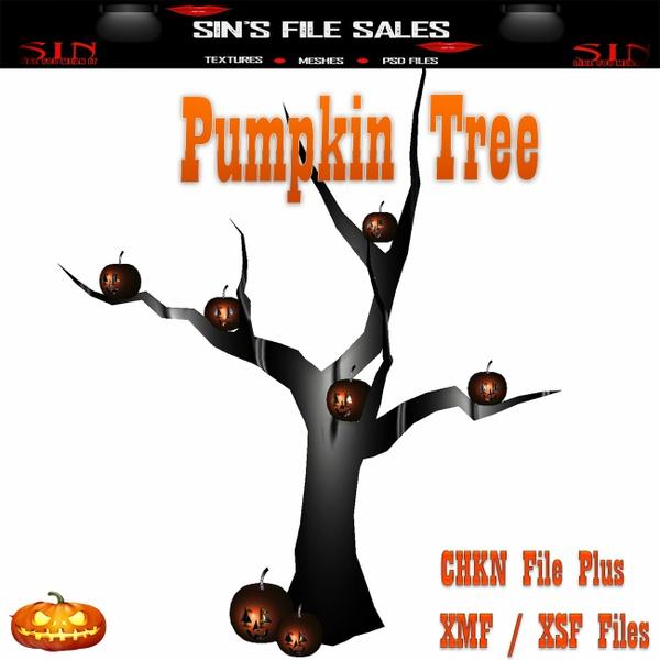 Pumpkin Tree *Mesh