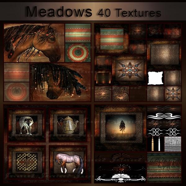 Meadows 40 Textures