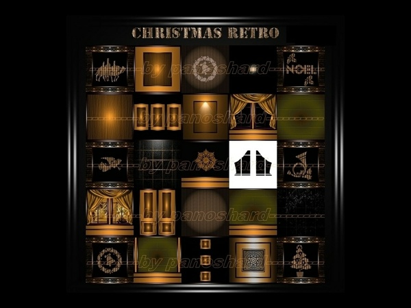 CHRISTMAS RETRO 25 TEXTURES