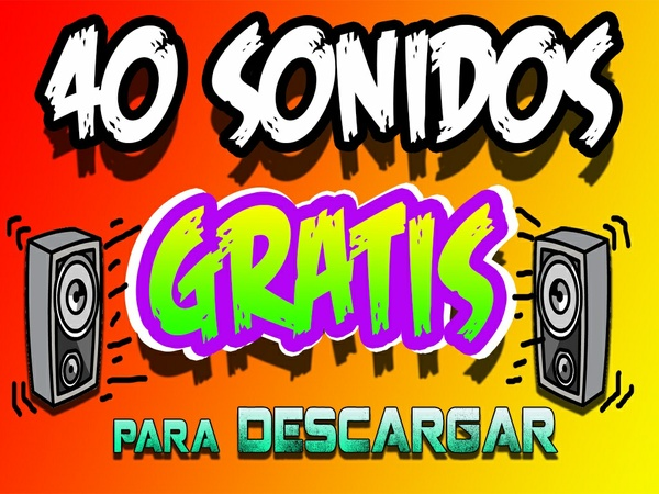 Pack de 40 sonidos mp3