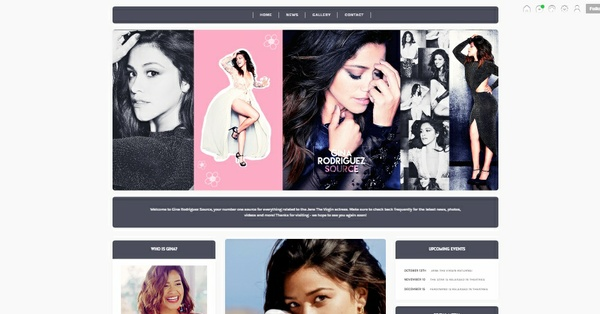 Tumblr Fansite Theme #1