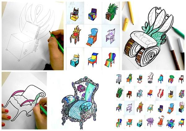 Design a chair: worksheet
