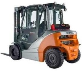 Still Diesel Forklift Truck Type RX70-40D, RX70-45D, RX70-50D: 7331, 7332, 7333, 7334 Parts Manual