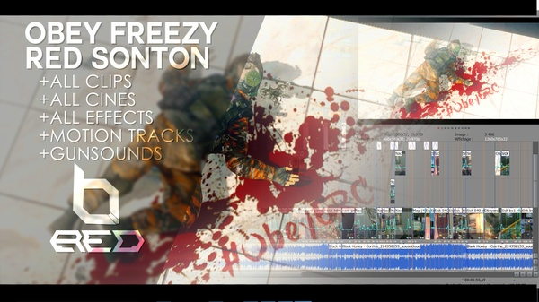 Obey Freezy x Red Sonton (Project File + Resources)