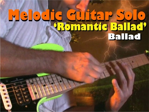 "MELODIC GUITAR SOLO ROCK-BALLAD BRIAN MAY STYLE ""ROMANTIC BALLAD"""