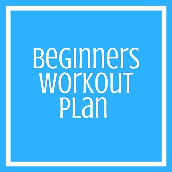 Beginners Workout Plan