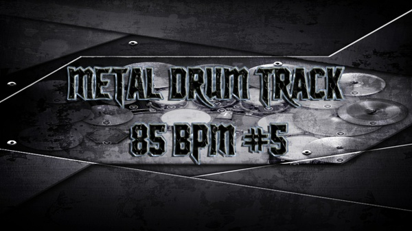 Metal Drum Track 85 BPM #5 - Preset 2.0