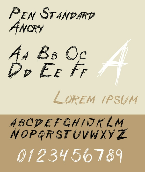Pen Standard - Angry
