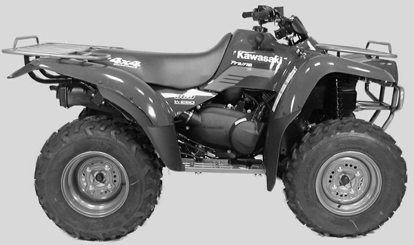 2003 Kawasaki KVF360 PRAIRIE 360 Service Repair Manual Download