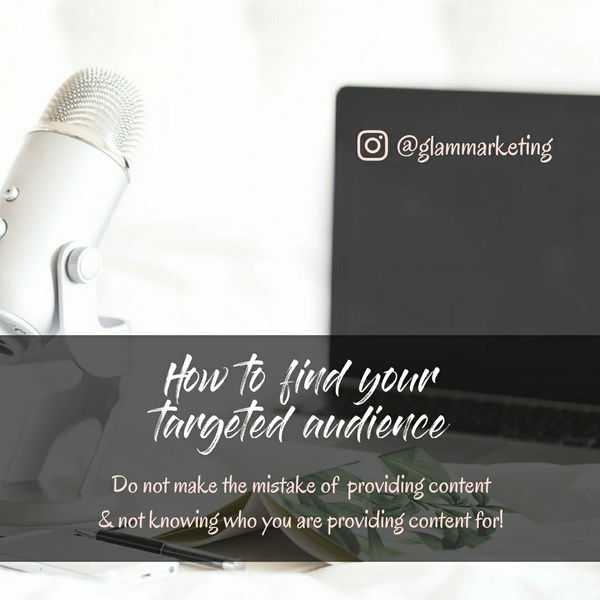 How to find your targeted audience