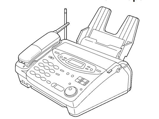 Panasonic KX-FPC135, KX-FPC141 Plain Paper FAX With 900 MHz Cordless Phone Service Repair Manual