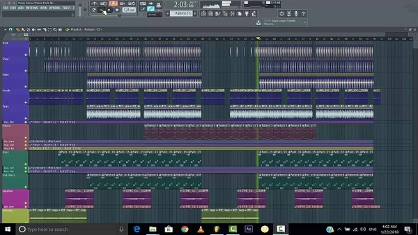 Piano House/Deep House FL Studio Template (+FLP)