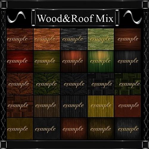 Wood & Roof Mix 38 Txt+1 OP