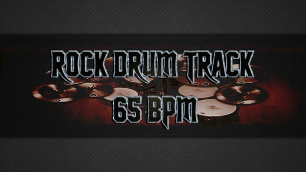 Rock Drum Track 65 BPM