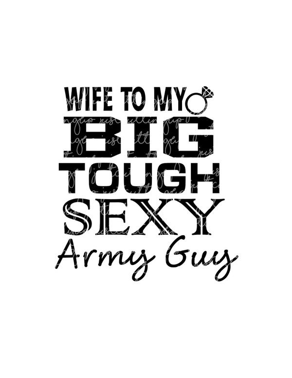 Army Wife SVG,