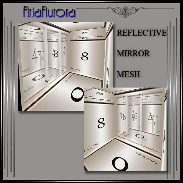 Miror Reflective  Small Rom Mesh.NO Resell!