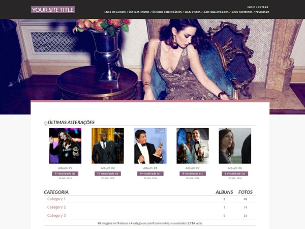 Coppermine Theme #01