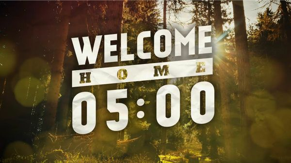 5 Minute Welcome Home Autumn Countdown