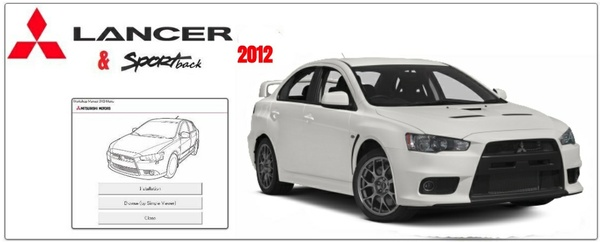MITSUBISHI LANCER CX/CY 2012 WORKSHOP MANUAL