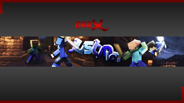 Minecraft Youtube Banner