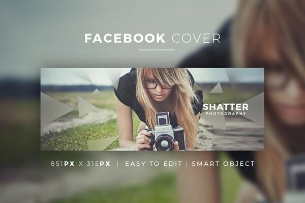 Creative Facebook Cover V7