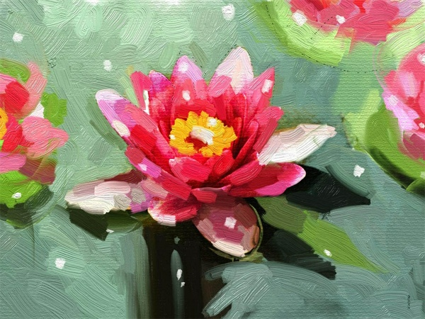 Blooming Lotus. A3 300dpi. FREE download Now! :)