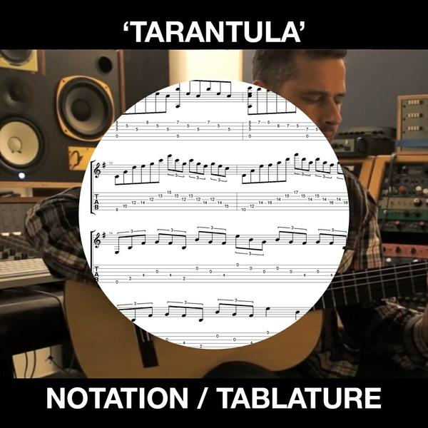 TARANTULA - SOLO FLAMENCO GUITAR TABS/NOTATION - BEN WOODS