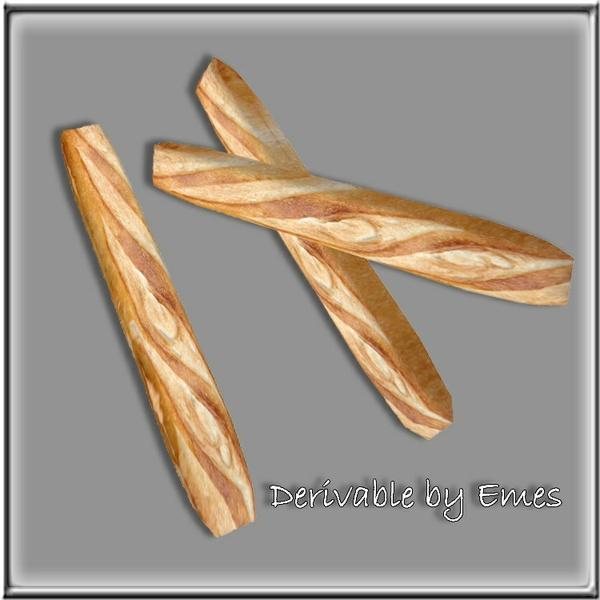 Picnic Bread & Breads Mesh(2 meshes)