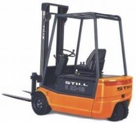 Still Electric Lift Truck R20-15, R20-16, R20-17, R20-20: 2002, 2004, 2005, 2007 Spare Parts Manual