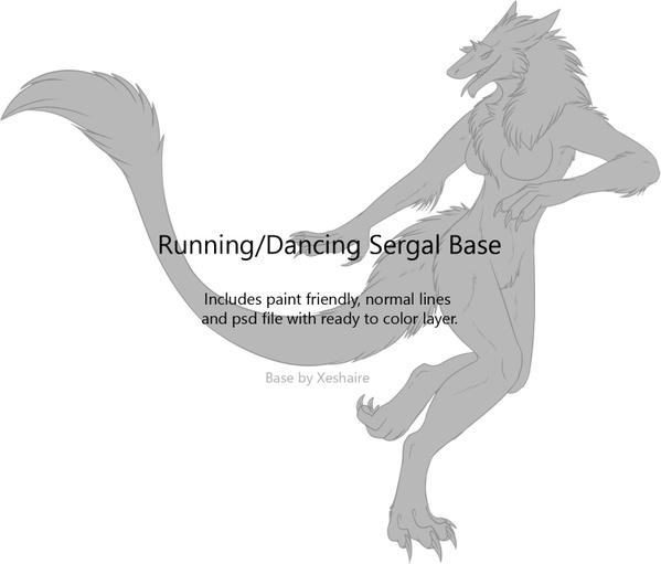 Running Sergal Base Female